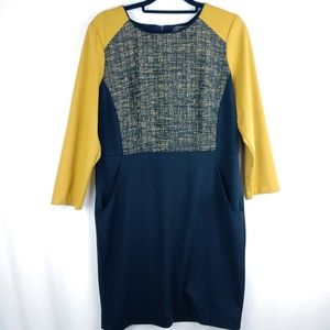 Trulli Long Sleeve Dress with Pockets